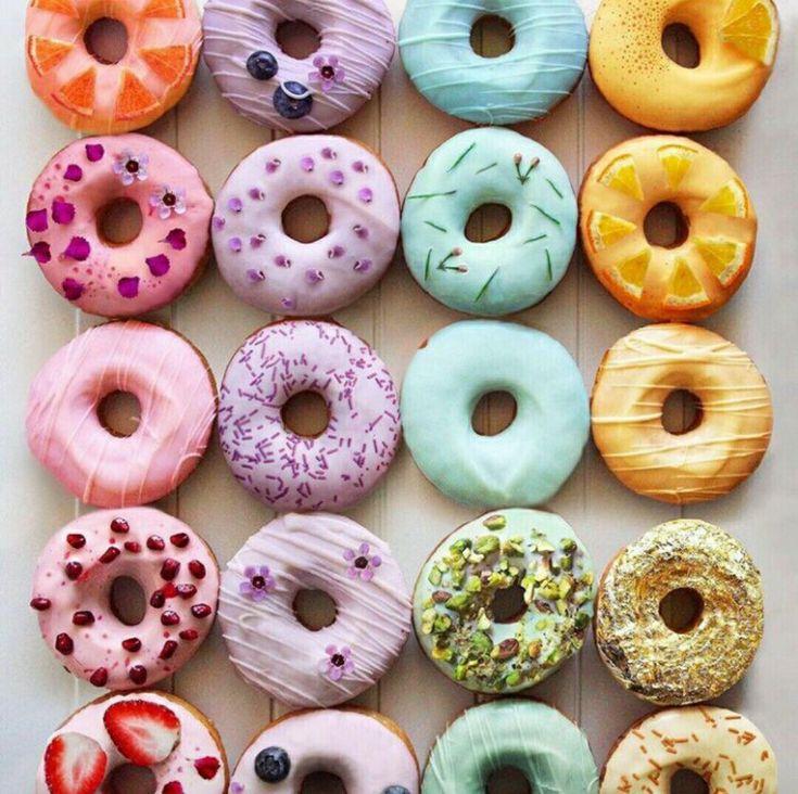 Прикольные картинки пончиков
