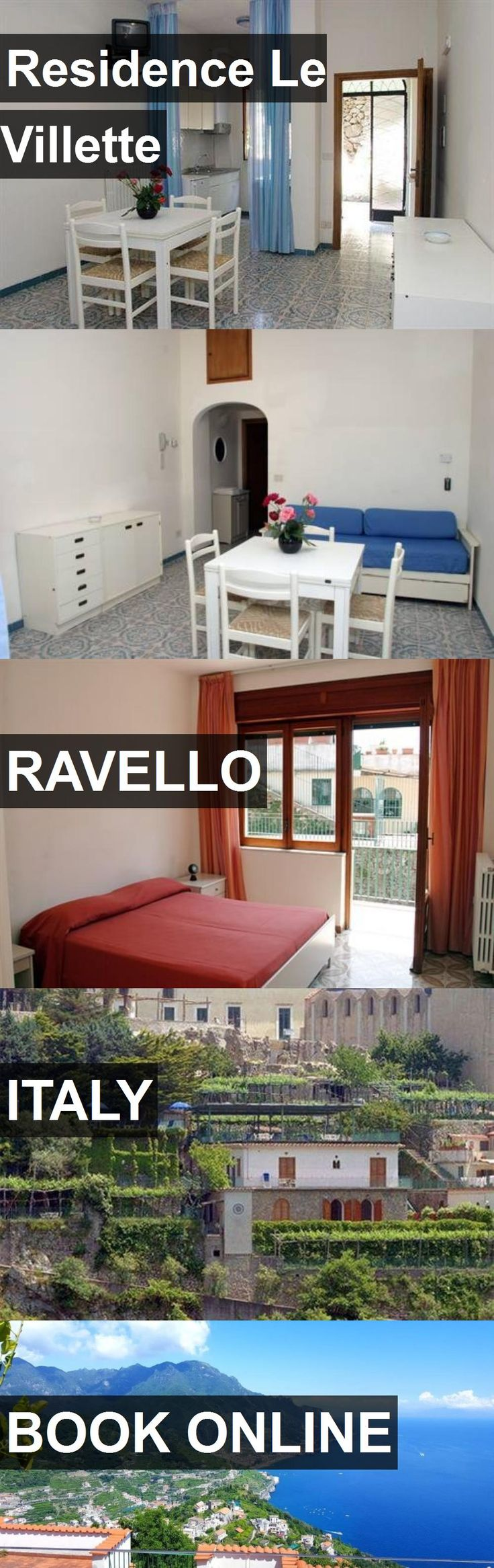 Hotel Residence Le Villette in Ravello, Italy. For more information, photos, reviews and best prices please follow the link. #Italy #Ravello #travel #vacation #hotel
