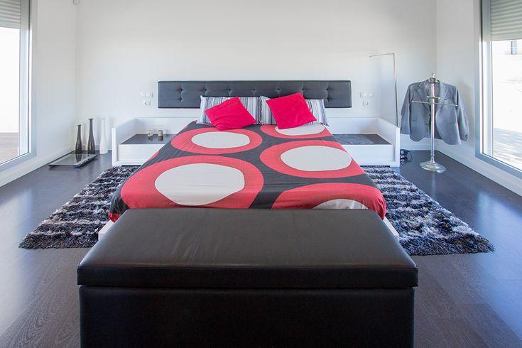 Habitación en casa minimalista  | Chiralt Arquitectos Valencia.