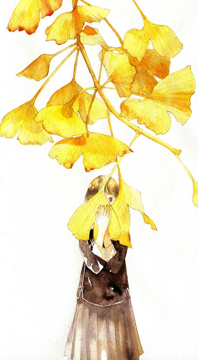 92 best ginkgo 銀杏 images on Pinterest   Leaves, Gingko leaf and ...
