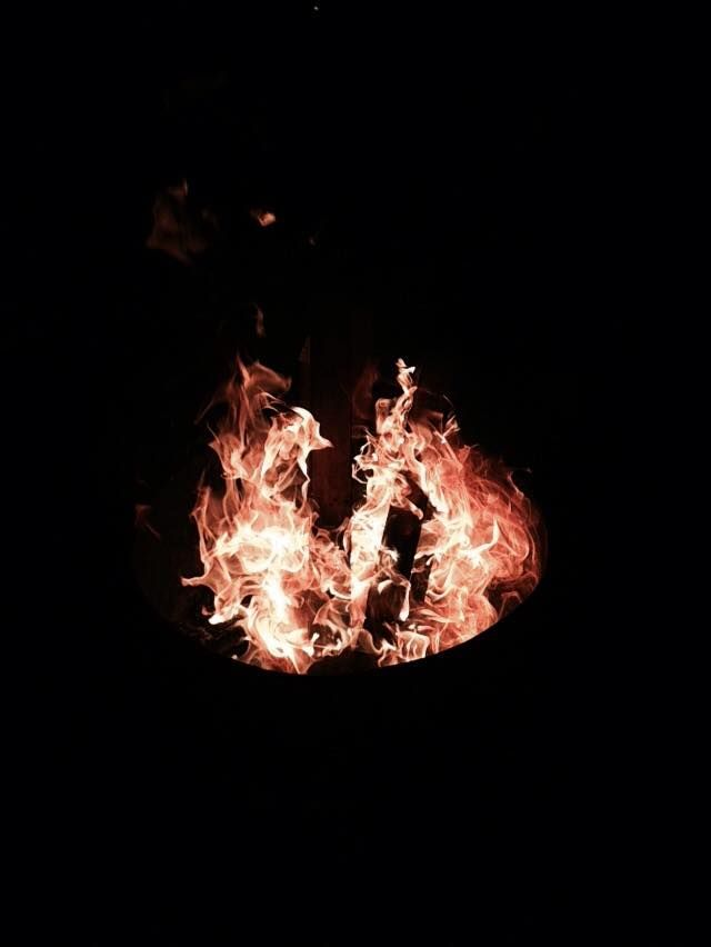 Nothing better than sitting around with great friends around a fire. This ones kinda big though