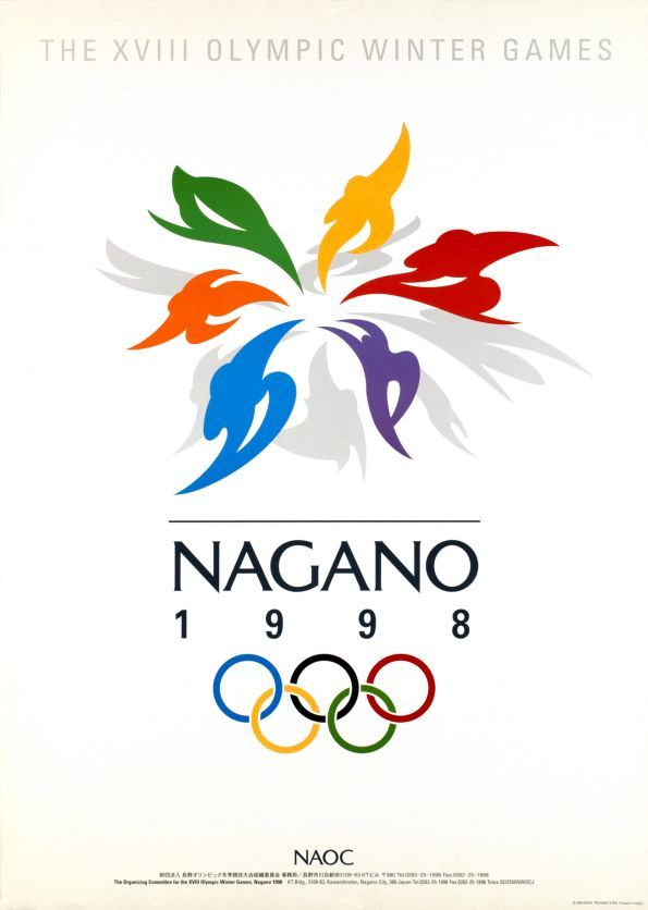 nagano olympic posters - Google Search