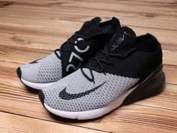 Cheap Nike Air Max 270 Retro Black / Grey -White Men's Sports shoes Walking