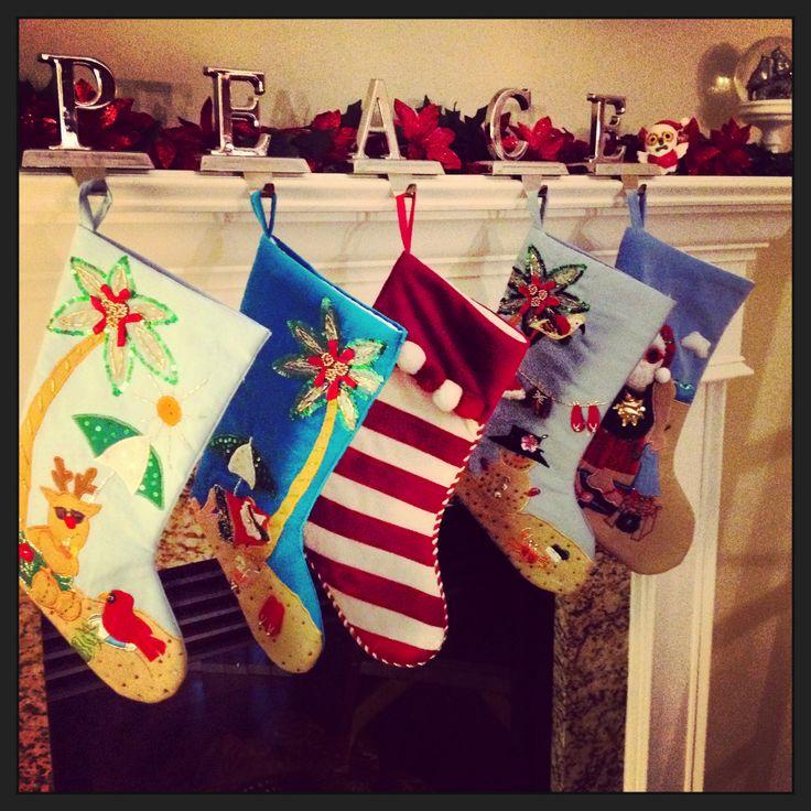 Coastal Christmas stockings ❤️