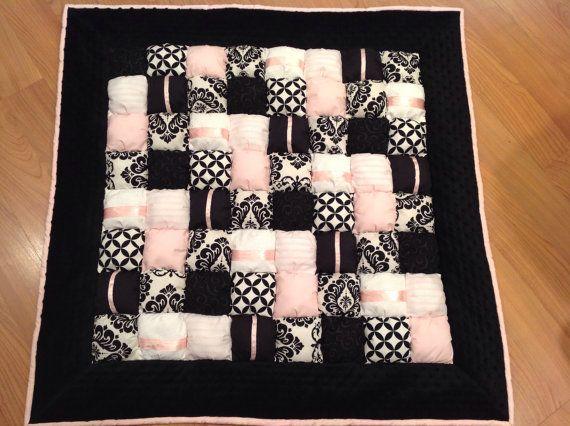 Bubble Quilt Bubble Blanket Puff Quilt Biscuit Quilt by LuvinKatie