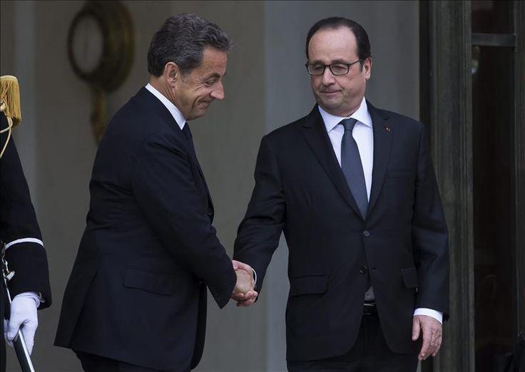 """París, 8 ene (EFE).- El presidente francés, François Hollande, y su predecesor, el conservador Nicolas Sarkozy, reiteraron hoy mensajes en favor de la unidad de los franceses tras el atentado mortal de ayer contra el semanario satírico """"Charlie Hebdo"""". Hollande, en un discurso de homenaje a una personalidad de la resistencia francesa, señaló que ante …"""