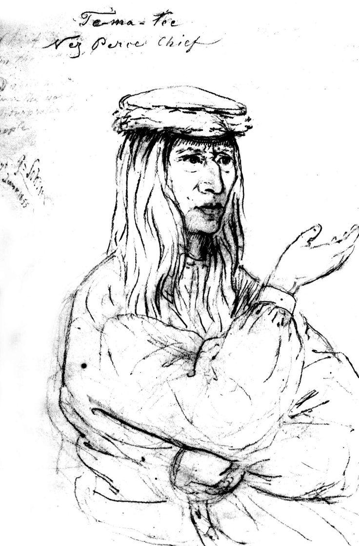 Temattee, Nez Percé