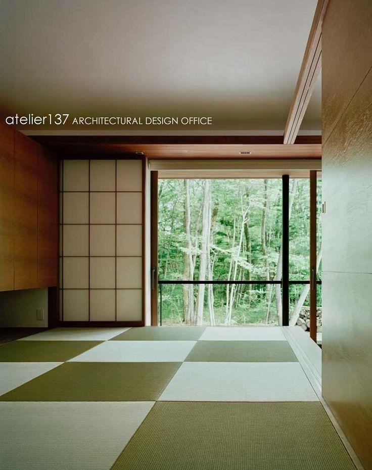 和室~015軽井沢Tさんの家: atelier137 ARCHITECTURAL DESIGN OFFICEが手掛けた和室です。