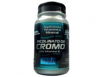Picolinato de Cromo 120 Cápsulas - Stem Pharmaceutical