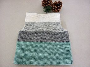Hand knit baby vest /cardigan / with Teddy.Unisex baby by AnaSwet
