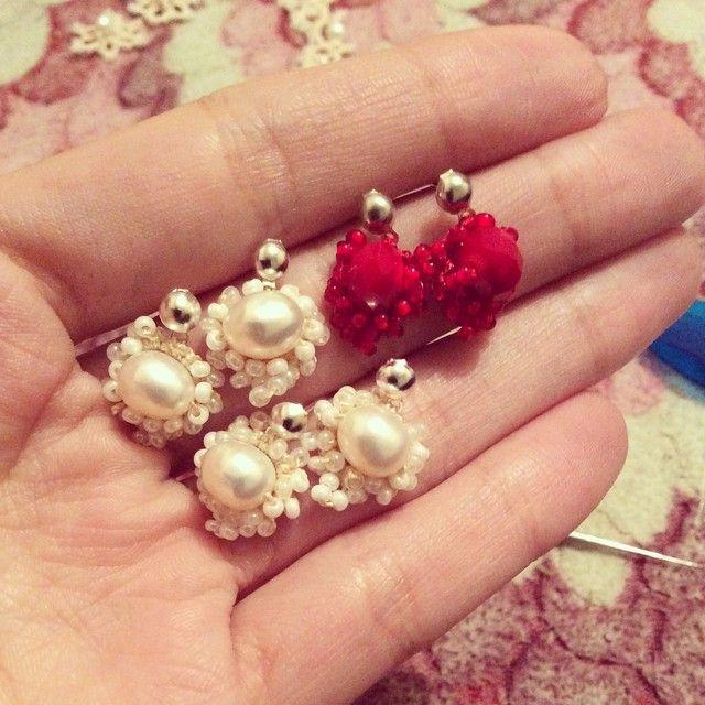 #tatting #tattinglace #frivolite #handmade #handcraft #handmadejewelry #beads #earring #necklace #bracelet #thread #pearl #cristals #forqueen #forwomen #withlove #reiscarletjewelry