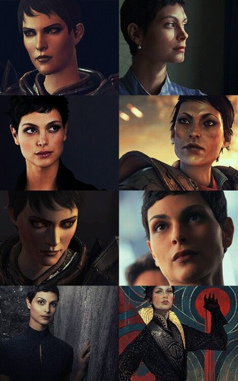 Morena Baccarin as Cassandra Pentaghast. Inara could be Cass; the resemblance is shocking.