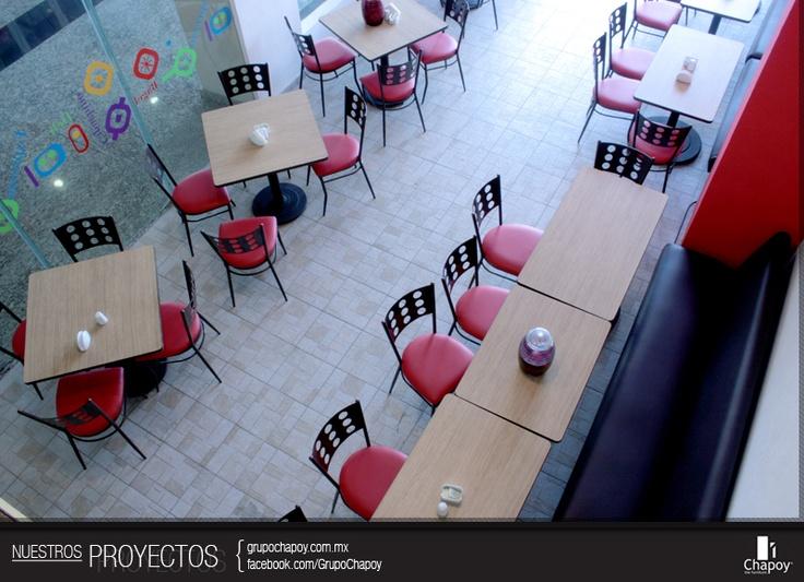 Proyectos chapoy muebles para decorar tu restaurante - Muebles para cafeterias ...