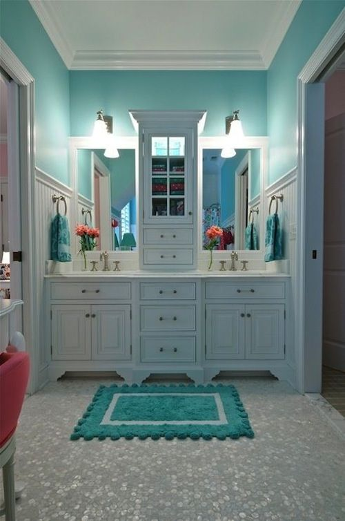 8 Favorite Tiffany Blue Rooms Part 91