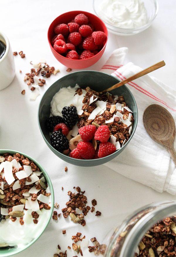 Cocoa Honey Granola Recipe
