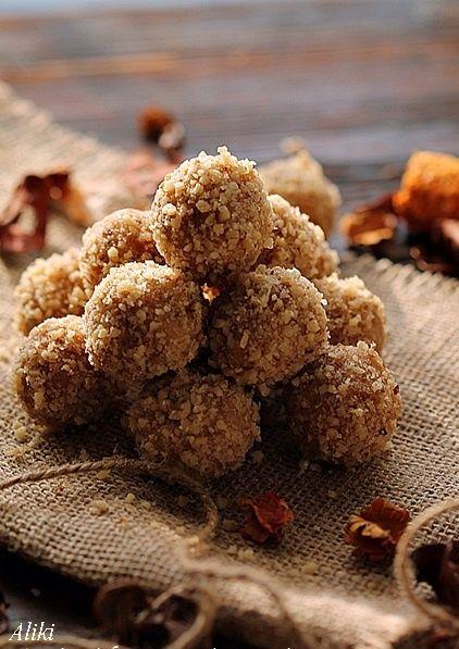 Μυρωδιές και νοστιμιές: Τρούφες με καρύδια