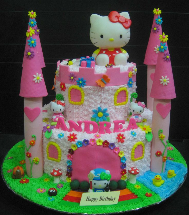 The 25 best Hello kitty cake design ideas on Pinterest Hello