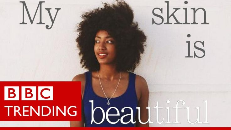 Why this beauty slogan #FlexinMyComplexion sparked an argument about race http://bbc.in/1J5RqWJ