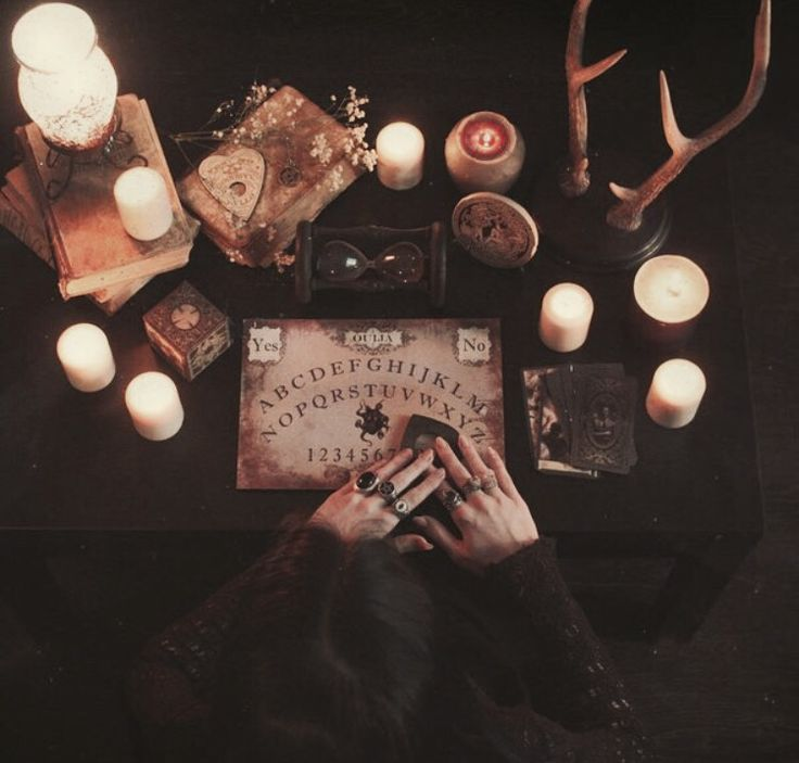 Witchy Autumns  : Photo  Rule of thumb: Don't EVER mess with Ouija boards or Spirit boards of any kind!  While it may be a conduit for calling upon the Spirits, through such practices you have NO CONTROL over what kind of Spirit comes through, nor of sending the Spirit back.