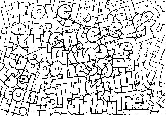 peace coloring pages puzzle - photo#26