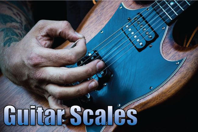 Guitar scales reference page, with diagrams, notation & tab. Learn to play common & exotic scales in every key. Pentatonic, blues, modes, jazz, & many more.