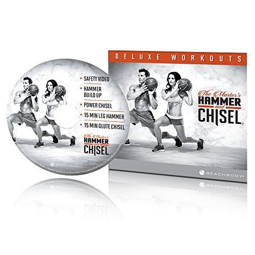 The Master's Hammer and Chisel Deluxe Workouts DVD Beachbody…