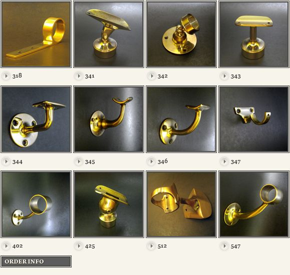 Brass Hand Rail Fittings B Brassworks Hardware