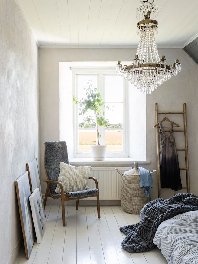 A beautiful Gotland home in shades of soothing grey