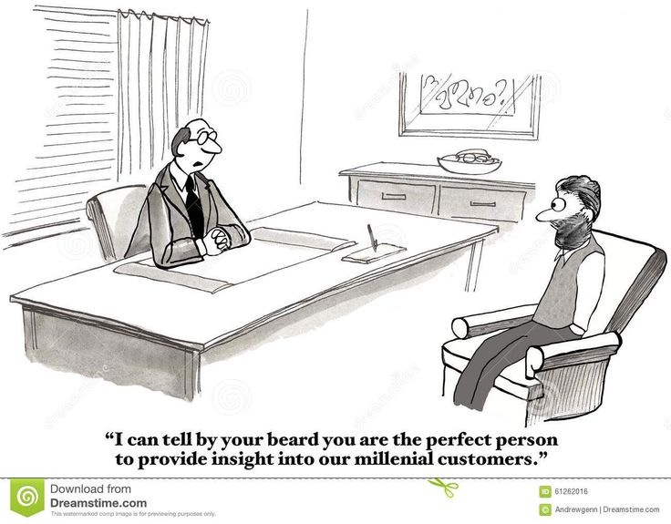 Image result for millennial office cartoon