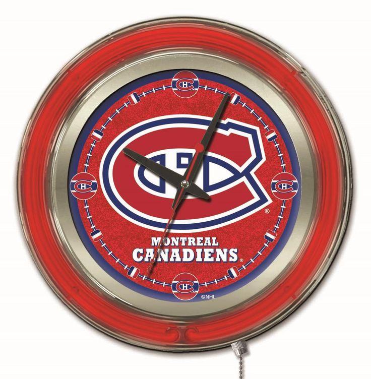 "Clock 15"" Dia. - Montreal Canadiens"