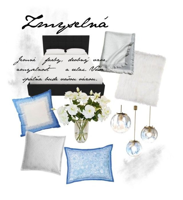 """""""Jasmina"""" by ninuusa on Polyvore featuring interior, interiors, interior design, home, home decor, interior decorating, Blissliving Home, Southern Tide, Sky and Adrienne Landau"""