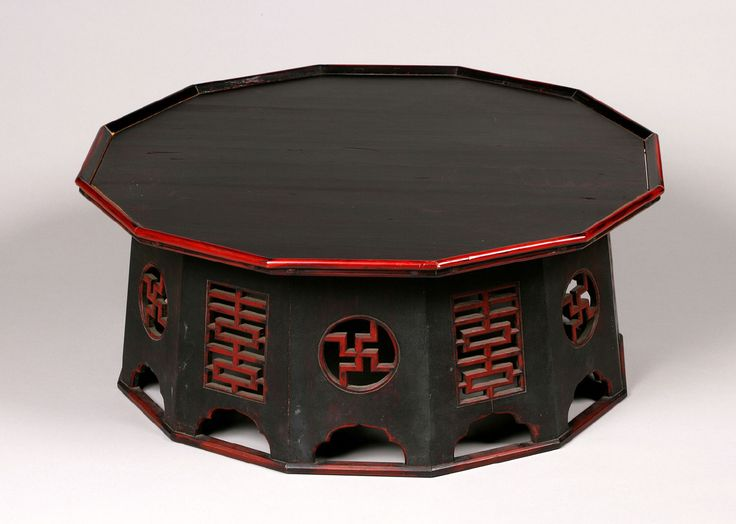 Tray Table (Soban) Artist/maker unknown, Korean Geography: Made in Korea, Asia Period: Joseon Dynasty (1392-1910) Date: 19th century