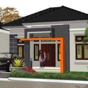 10 bentuk rumah sederhana ukuran 6x9 terbaru 2020 | rumah