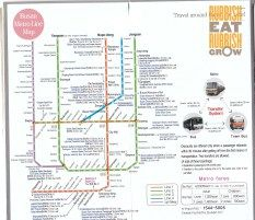 Busan subway map and guide