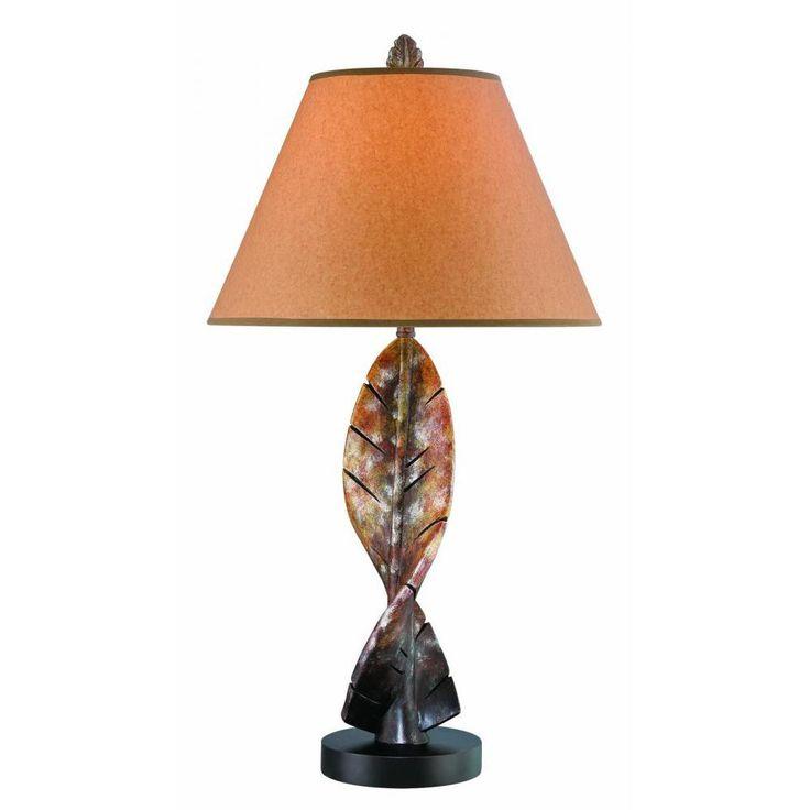 Filament Design 32 in. Dark Brown Table Lamp