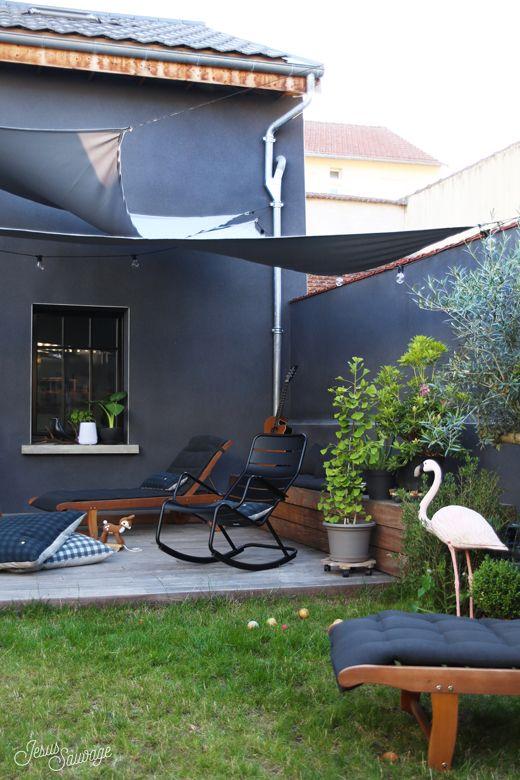 Notre terrasse – L'avant / Apres #hometour