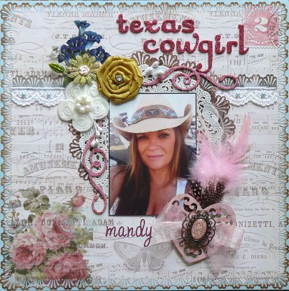 "Layout: ""Texas Cowgirl"""