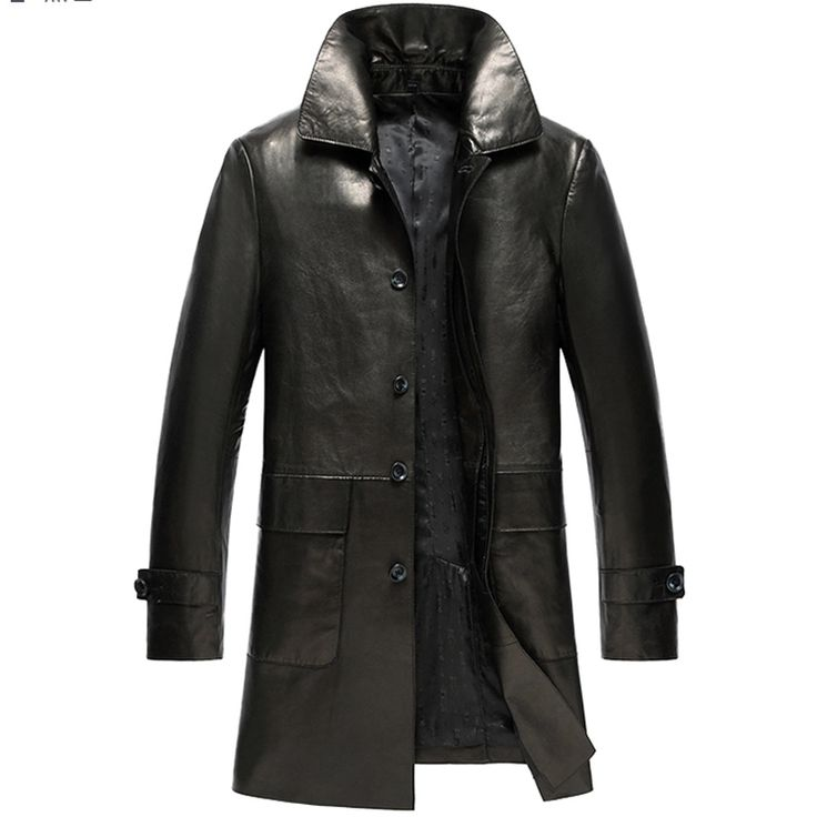Best 25  Leather trench coat mens ideas on Pinterest | Mens trench ...