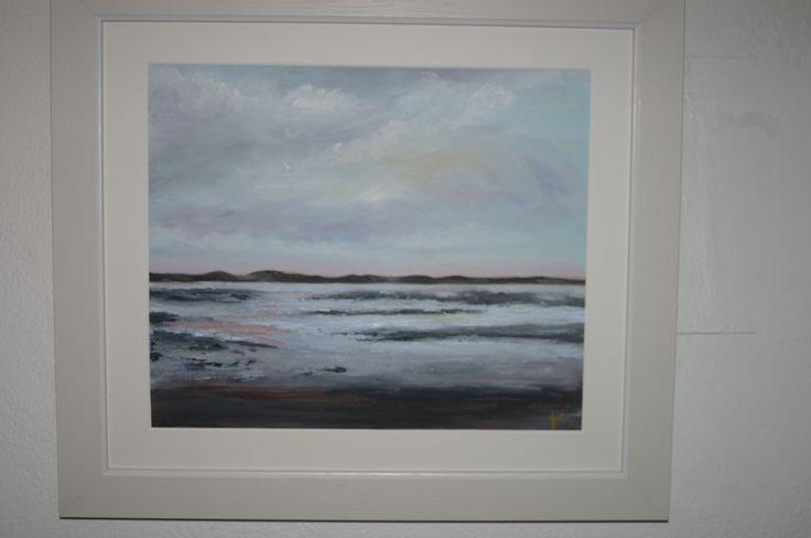 36. Sandhills, Oil on canvas, €120 by Jane Keen