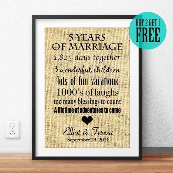 The 25+ best 5th wedding anniversary gift ideas on Pinterest | DIY ...