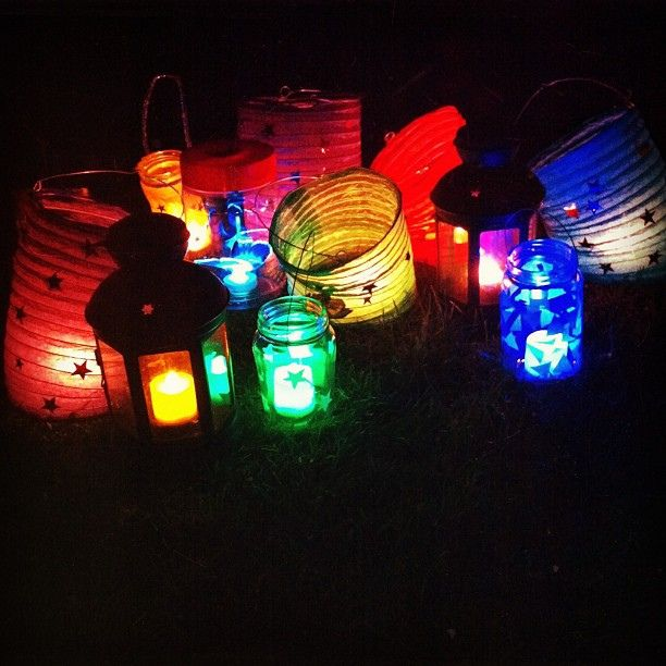Matariki lanterns at @Amy Lyons Lyons Lyons Tea's annual do. A bit windy but mulled wine and eggnog afterwards made up for it :) #matariki #midwinter #newzeal...