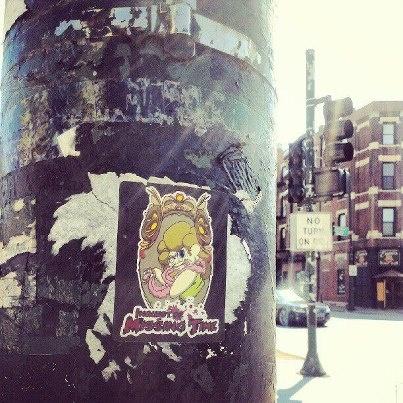 Trista Sticker Chicago