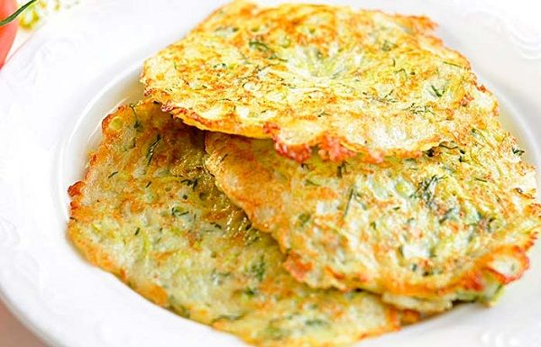 Fritters cabbage