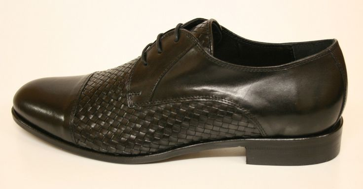 Mercanti Shoe Metisse Black 6558 Hand made in Italy