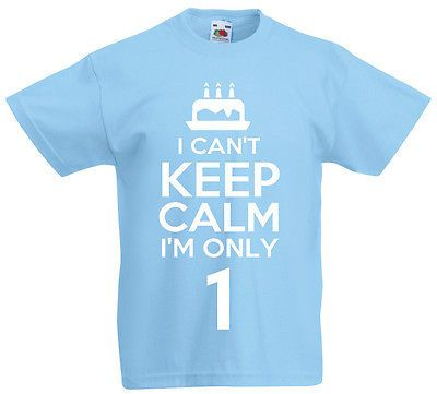 I #can't i'm only 1 - 1st #birthday gift #t-shirt for 1 year old boys & girls, View more on the LINK: http://www.zeppy.io/product/gb/2/181829483805/