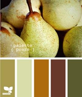 Pears - nice neutrals.