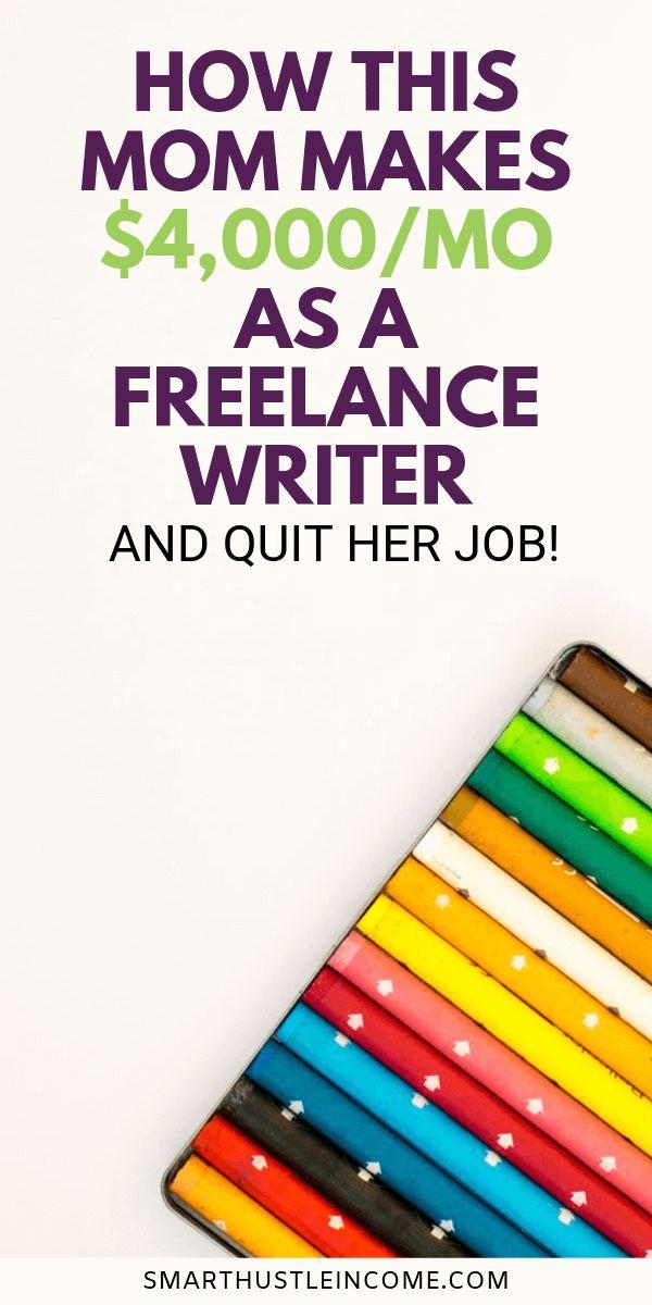 Geld verdienen Freiberufliche Schreiben von zu Hause aus – Freelance Writing for Beginners