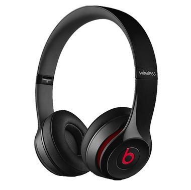In Box Beats By Dre Beats Solo 2 Wireless Headset Black: Rough Shape