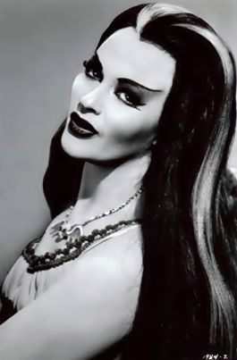 Yvonne de Carlo as Lily Munster. Google some pictures of her as a young woman! She was a total Hottie!