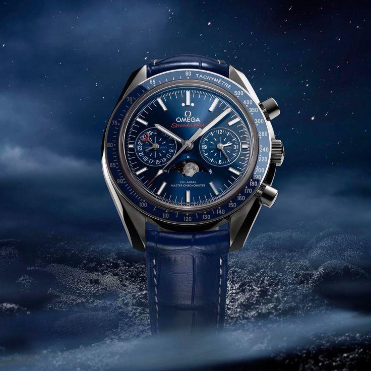Omega Speedmaster Moonphase Chronograph Master Chronometer - Perpetuelle